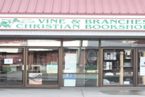 Vine Branches Christian Bookshop for sale, only one of it's kind in Anchorage Alaska