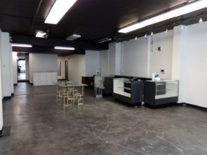 Inside of Office space for lease in Anchorage, Alaska downtown