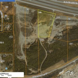 Bird's eye view of land for sale in Wasilla AK, property A12