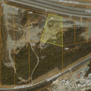 Bird's eye view of land for sale in Wasilla AK, property A13