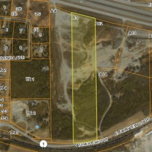 Bird's eye view of land for sale in Wasilla AK, property A5