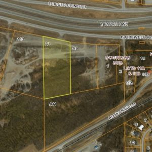 Bird's eye view of land for sale in Wasilla AK, property A8