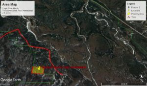 Eagle River Property Land for Sale in Chugach Park Birds Eye view.